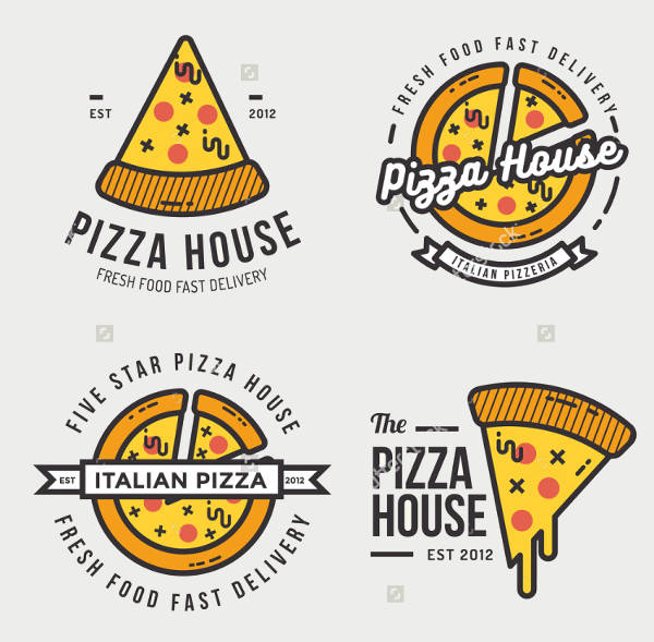 9+ Pizza Logos - Editable PSD, AI, Vector EPS Format Download