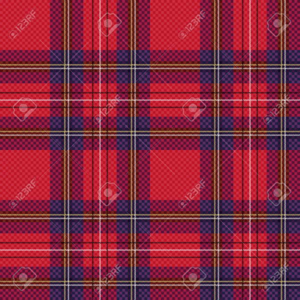 Plaid Clothing Pattern Design