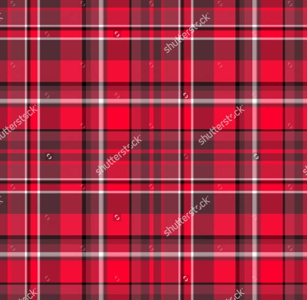 Plaid Fabric Pattern Design