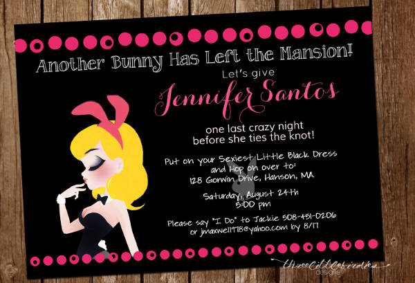 Playboy Bunny Invitation
