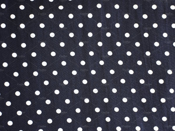 Polka Dot Fabric Pattern