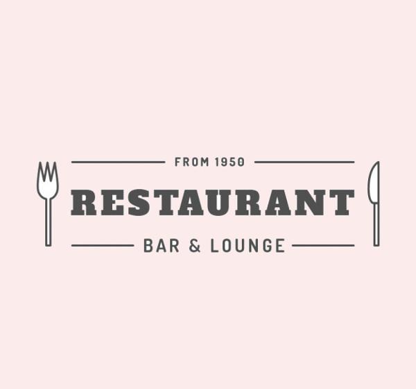 Popular Restaurant Logo