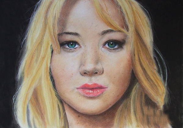Portrait Color Drawing