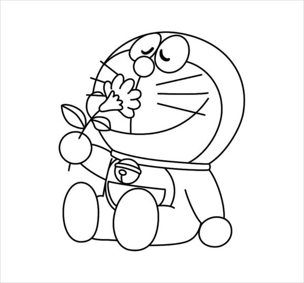 9  cartoon coloring pages