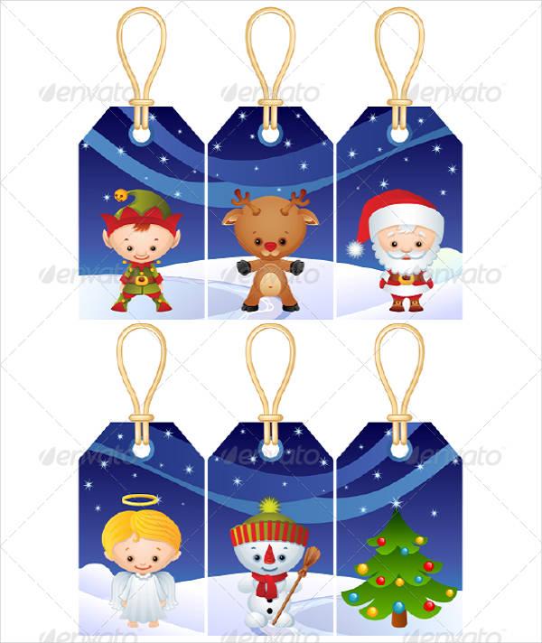 Printable Christmas Gift Tag