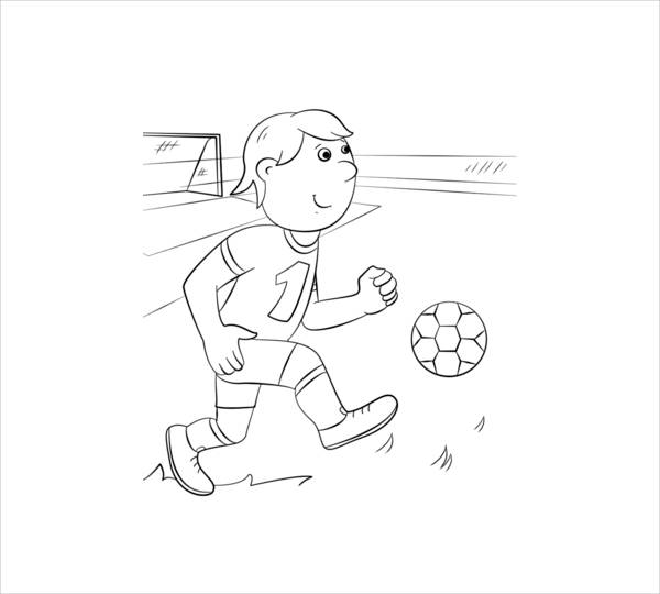 Printable Coloring Page for Boys