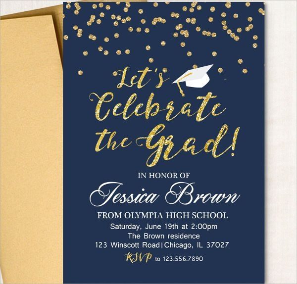 Printable Graduation Invitation Wording