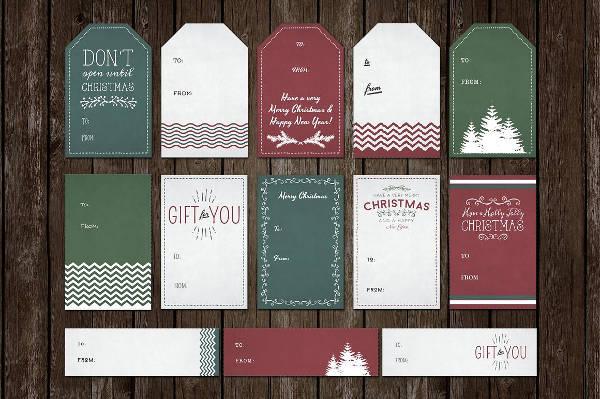 Printable Holiday Gift Tag