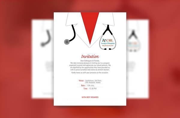12 invitation card designs editable psd ai vector eps format printable hospital invitation card stopboris Choice Image