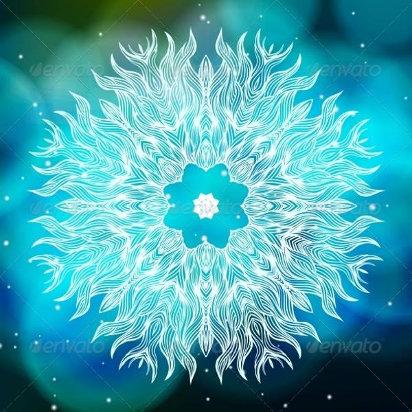 Printable Modern Mandala Design