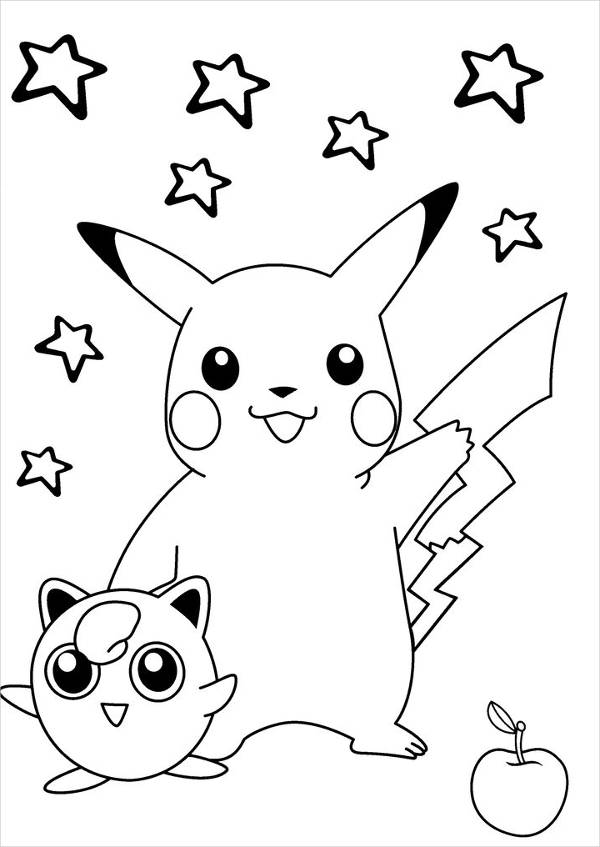 FREE 8+ Pokemon Coloring Pages in PSD | AI