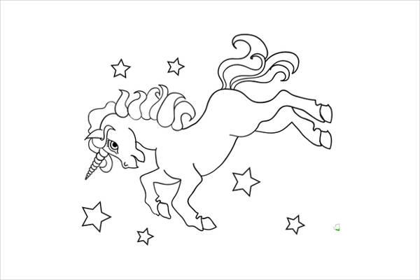 Printable Preschool Coloring Page