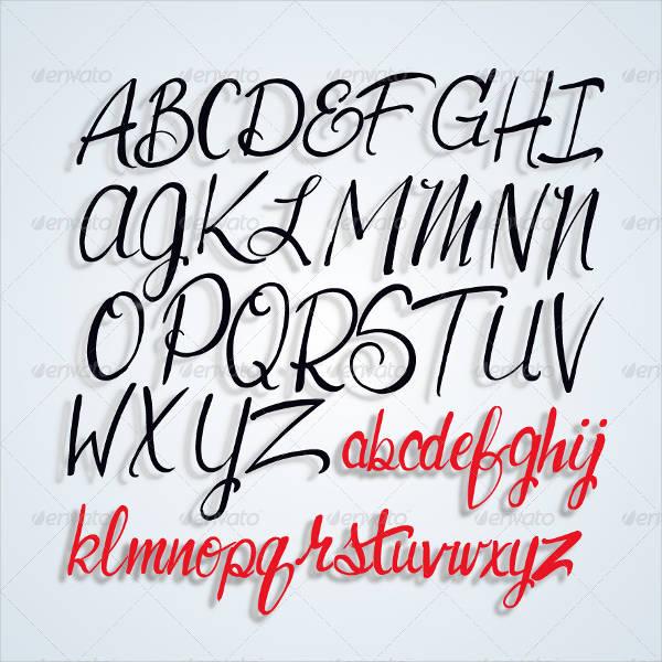 Printable Script Letters