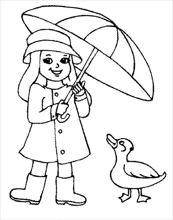 printable spring clothes coloring page2