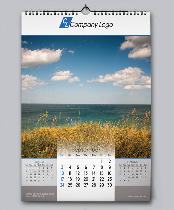Printable Wall Calendar
