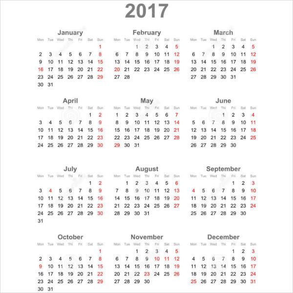 Public Holiday Calendar
