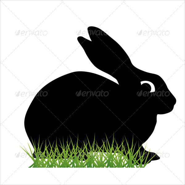 Rabbit Silhouette Vector