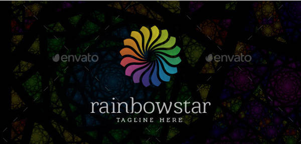 Rainbow Star Logo