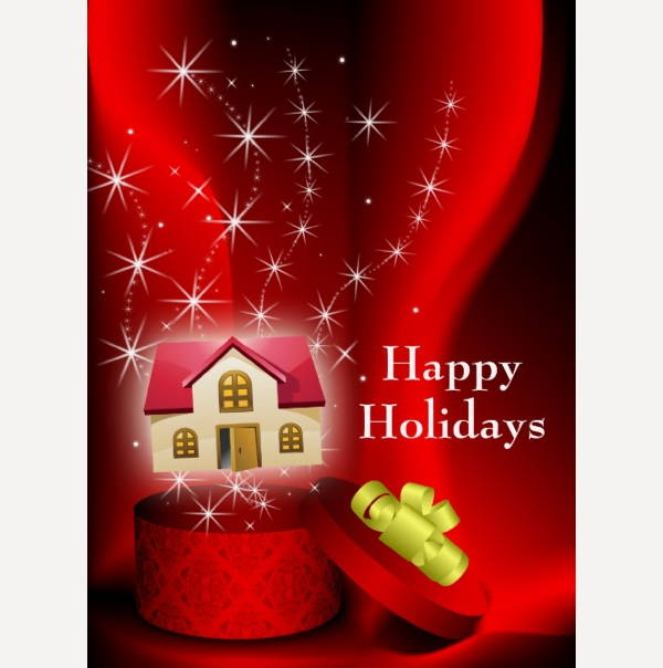 Real Estate Holiday Greeting Card