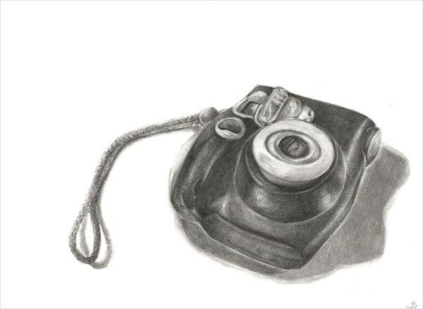 Realistic Camera Drawing