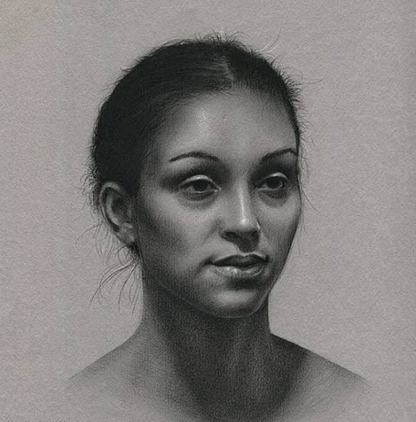 Realistic Face Drawing