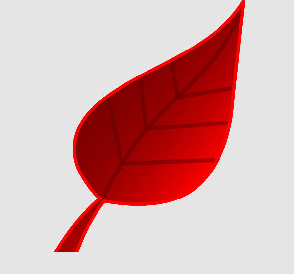 Red Leaf Clip Art
