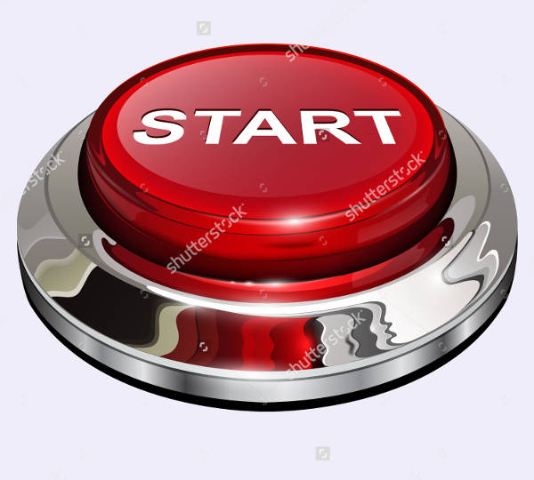 Red Start Button