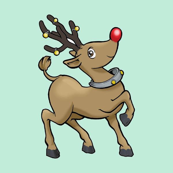 Reindeer Clip Art Transparent
