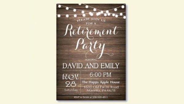 8 retirement party invitations jpg vector eps ai illustrator img stopboris Image collections