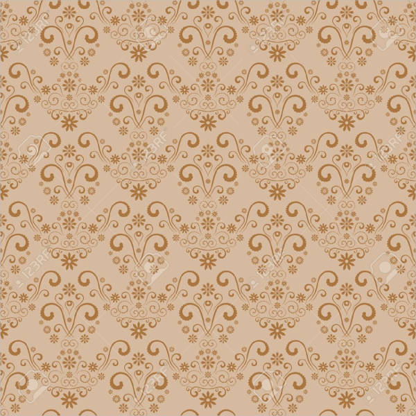 Retro Damask Pattern