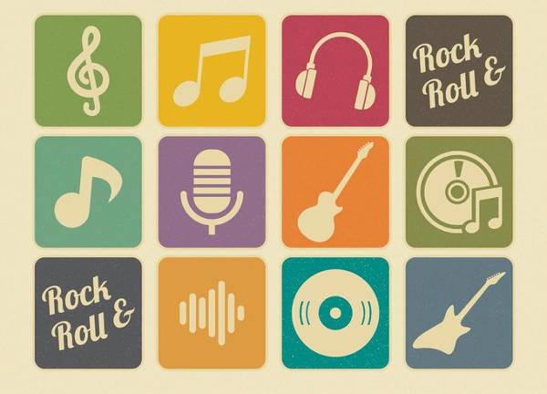 Retro Music Icons