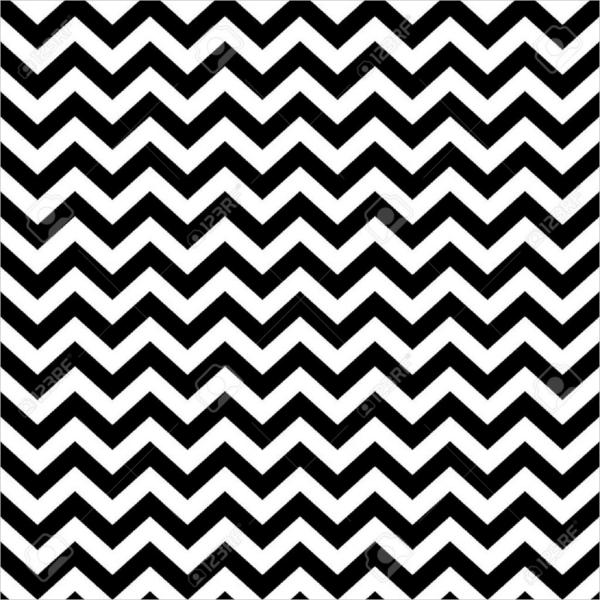 Retro Zigzag Pattern Design