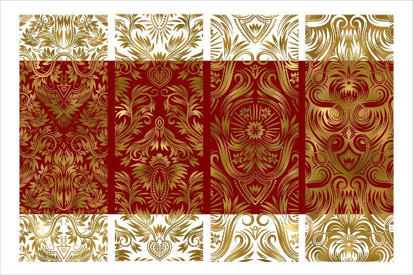 Royal Damask Pattern