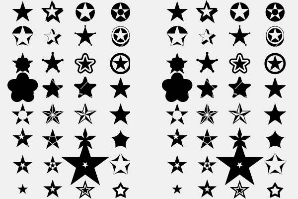Royalty Free Star Icons