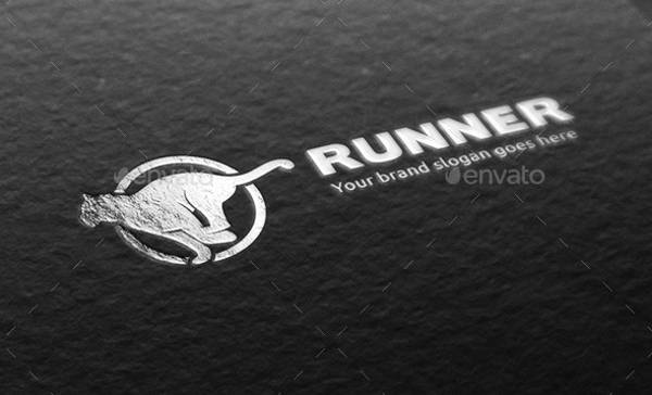 runner tiger logo