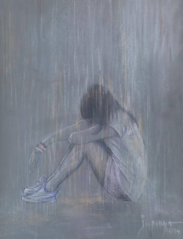 Sad Love Drawing