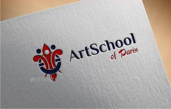School Art Logo