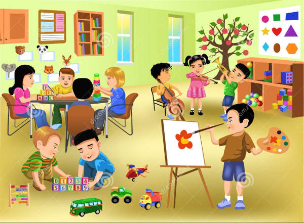 9+ Classroom Cliparts - Free Vector EPS, JPG, PNG Format ...