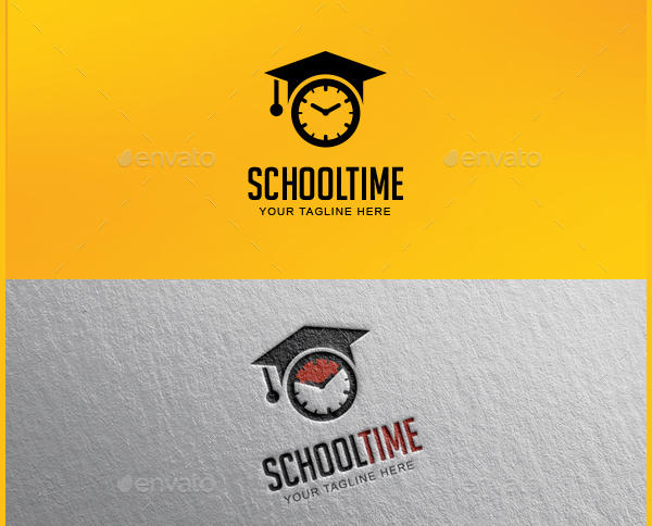 School Vector Logo Design
