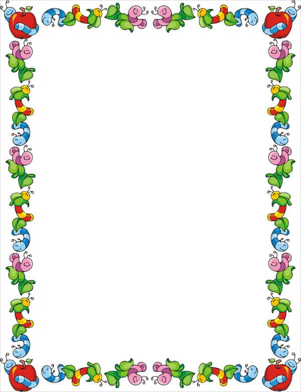 Science Border Clip Art
