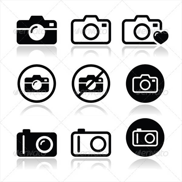 Set of Camera Icon