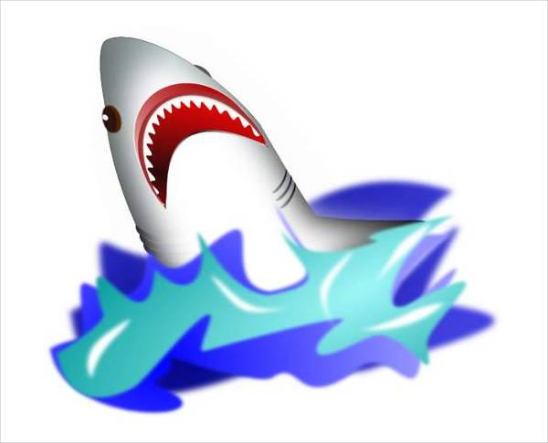 Shark Mouth Clipart