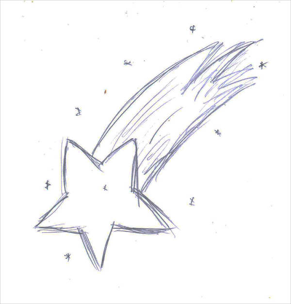 Shooting Star Drawing