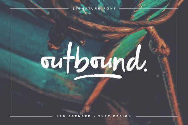 Signature Outbound Font