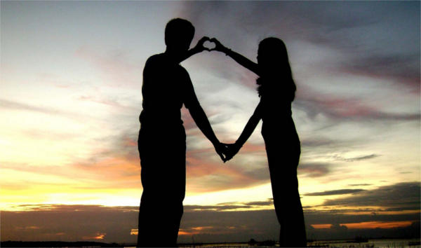 Silhouette Love Photography