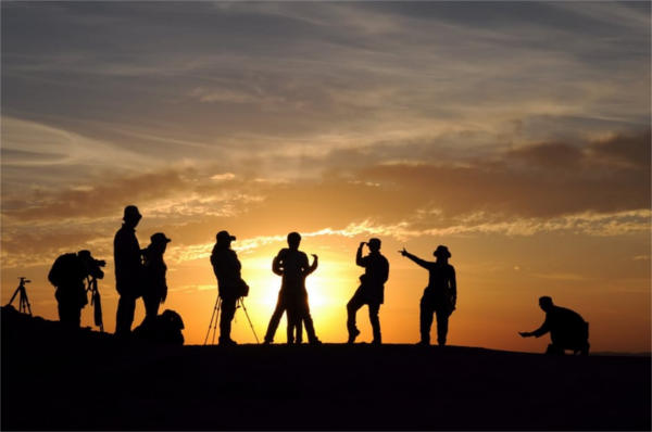 Silhouette Sunset Photography