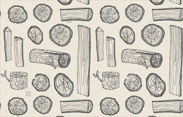 Silhouette Wood Pattern
