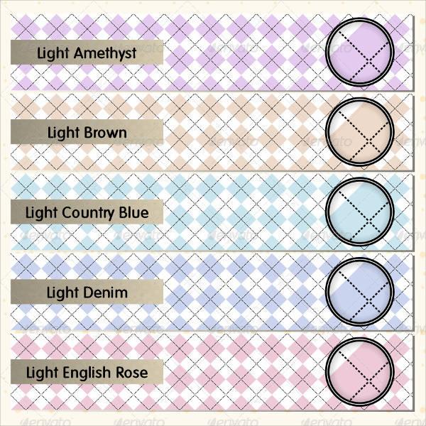 Simple Argyle Pattern Design