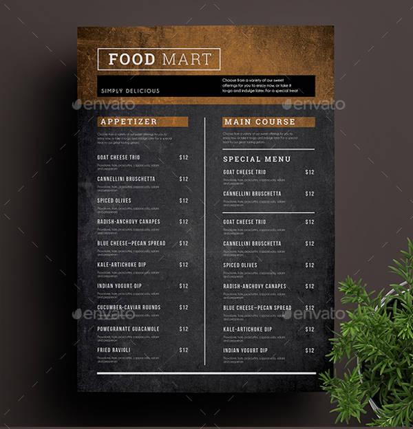 simple menu design koni polycode co