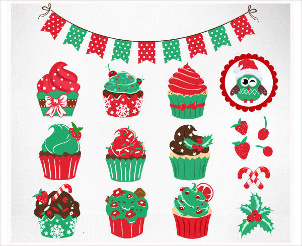 Simple Cupcake Clipart
